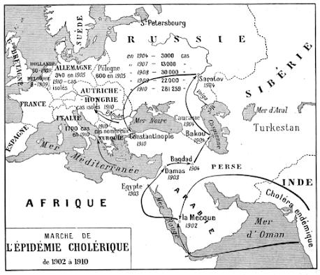 Πως σταμάτησε η χολέρα στην Κωνσταντινούπολη το1910!